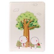 铂能 苹果ipad air 5插画保护套 可爱迷你保护壳卡通带休眠 支架皮套(爱的承诺)送高清贴膜
