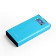 芯晶彩 S603 移动电源20000毫安 充电宝 超大容量适用于苹果 三星 华为等通用型 蓝色