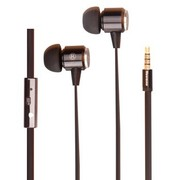纽曼  XM11 金属材质线控音乐耳机  黑色
