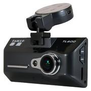 泰鹿 TL600 安霸行车记录仪高清广角夜视 1080P 24小时停车监控 黑色钢琴烤漆版 +16GClass10卡