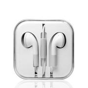 西马龙 xml 耳塞式耳机带麦克风 适用魅族/小米3/红米NOTE/华为3C/酷派/三星/苹果 立体声线控耳机白色