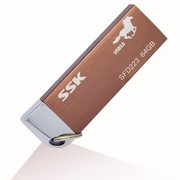 飚王 锐界马年版 U盘(SFD223) 64G(玫瑰金) USB3.0