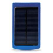 戴芙迪 SC200移动电源 充电宝通用10000毫安太阳能充电 蓝色