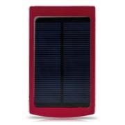 戴芙迪 SC200移动电源 充电宝通用10000毫安太阳能充电 红色