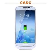 CRDC 三星S4背夹电池S4移动电源S4充电宝盖4背夹电池三星S4无线充电宝 支持货到付款 CRAS4-2 白色