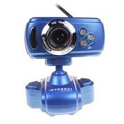 现代 HYC-S200多功能摄像头 游戏&特效 蓝色