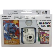 富士 instax mini25 拍立得相机礼盒套装(蓝色)