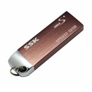 飚王 锐界极速版 U盘(SFD223) 32G (玫瑰金) USB3.0