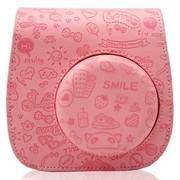 富士 拍立得 mini8皮革相机包 (嫩粉色)