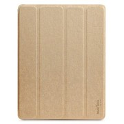奇克摩克 魅彩系列 苹果iPad2/new iPad3/iPad4保护壳/保护套 iPad3保护套 iPad4保护套 土豪金