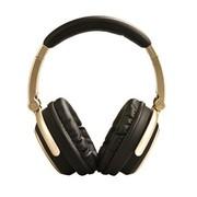CAV 2.4G无线头戴式耳机 澳门金沙网上娱乐场电脑电视一对多发射器带无线音响 金色