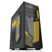 先马 英雄 定制游戏机箱 (U3/SSD/侧透/黑化下置背线/长显卡/防尘/光驱免工具)
