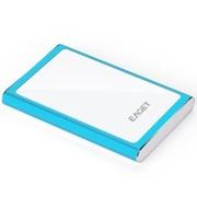 忆捷 G90-1TB 时尚超薄硬加密全金属 USB3.0高速移动硬盘 蓝色