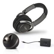 CAV 2.4G无线头戴式耳机 手机电脑电视一对多发射器带无线音响 黑色