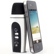 more-thing 苹果iphone手机专用k歌 录音 混响电容卡拉ok随身话筒麦克风 白色