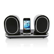 倍加乐 HL2218 苹果音响底座 无线充电 iphone4s/5s/ipod手机充电音箱 黑色