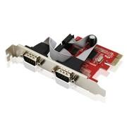 优越者 Y-7504 PCI-E转RS232双串口台式机扩展卡