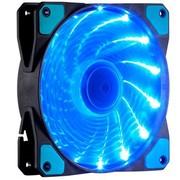 至睿 旋驰H120D (炫酷15组LED灯+22dB极静音+强劲风量+扇框防震) (机箱风扇)(蓝灯)