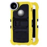 富图宝 IP-5 思克朗 苹果iPhone5/5S手机套手机壳 硅胶保护套 超强保护壳 自拍配件 黄色