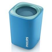 飞利浦 BT100 无线蓝牙音箱 动人音效支持免提通话 蓝色