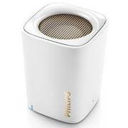 飞利浦 BT100 无线蓝牙音箱 动人音效支持免提通话 白色