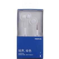 诺基亚 WH-208 立体声线控耳机 白色产品图片主图