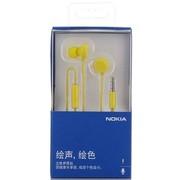 诺基亚 WH-208 立体声线控耳机 黄色