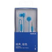 诺基亚 WH-208 立体声线控耳机 蓝色