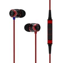 声美 E10M 入耳式手机线控带麦克风音乐耳机耳麦五星评价 红色产品图片主图