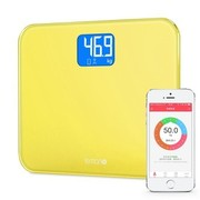 麦开 智能体重计Lemon 蓝牙4.0人体健康秤社区体重称 柠檬黄