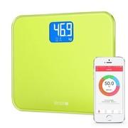麦开 智能体重计Lemon 蓝牙4.0人体健康秤社区电子秤 青柠绿