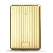 果珈 ipad移动电源5s移动电源三星小米充电宝12000毫安 A4-旅行箱版土豪金