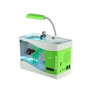 飞狗 FGBA-S型蓝牙音箱 音乐鱼缸音响 带收音读卡音箱播放器免提通话 绿色