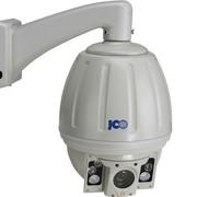 捷高 JG-ZBJD-HB650 1/3、650线、18倍 多灯点阵 红外变速球机 军工级 IP66