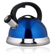 仁品 RENPIN不锈钢烧水壶鸣音壶 防烫烧水壶 水开鸣笛3L/3.5L 亮光蓝3L