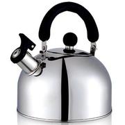 仁品 不锈钢烧水壶 鸣笛响音电磁炉煤气炉通用BB壶 2.5/3/4/5L 5L三层复合底
