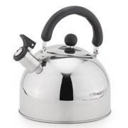 兴财 304不锈钢球型烧水壶 鸣音开水壶热水壶 煤气电磁炉适用 家庭式