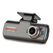 iceeper A100汽车行车记录仪高清超广角 不漏秒 1080p 红外夜视 迷你 夜视王 A100标配无卡