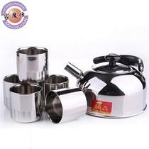 家魔仕 经典男女士不锈钢茶具组合套装水壶杯子产品图片主图