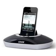 酷克斯 COOXM1+  苹果音响iphone4s/5手机底座迷你ipad音箱 扩音器 黑色