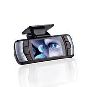 驭道者 行车记录仪迷你双镜头 夜视1080P高清广角监控一体机 Q3双镜头旗舰版+8G卡