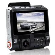 亿益 E502 行车记录仪 170度广角镜头 180度自由旋转 高清夜视 1080P大横屏