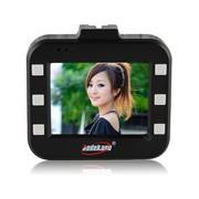 博德康 B04汽车载行车记录仪 高清广角1080P 双镜头超强夜视迷你 黑白色