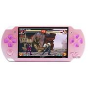 小霸王 Subor掌上PSP游戏机S800 4.3寸屏带摄像头内置海量游戏可下载录音MP5 可乐红4G版本+16G卡