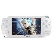 小霸王 掌机PSP游戏机S6000A 4.3寸触屏街机之王内置万款游戏 带摄像MP5学习机 白色8G版本