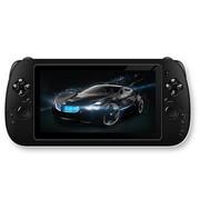 小霸王 双核平板PSP游戏机S600 6.5寸超高清大屏安卓4.2双摄像头3D/WIFI上网 黑色8G版本+16G卡