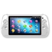 小霸王 双核平板PSP游戏机S600 6.5寸超高清大屏安卓4.2双摄像头3D/WIFI上网 白色8G版本