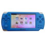 小霸王 智能掌上PSP游戏机S100 4.3寸屏带摄像安卓系统WIFI 蓝色4G版本