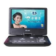 小霸王 移动电视DVD SB-615便携式超薄旋转3D高清屏带电视游戏功能9.8英寸 蓝色