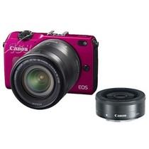 佳能 EOS M2 微单套机 粉色(18-55mm,22mm)产品图片主图